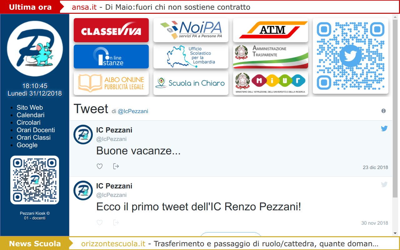 icpezzani kiosk screenshot